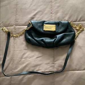 Marc by Marc Jacobs small black leather crossbody